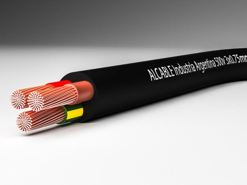 Cable multipolar vaina redonda